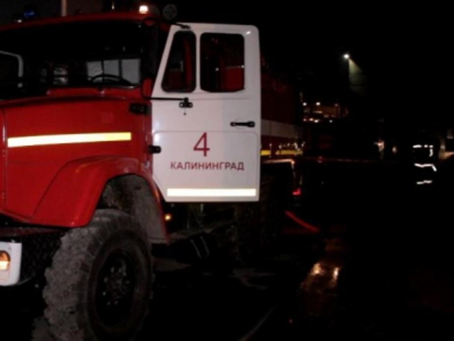 УМВД: У сгоревшего экскаватора замкнула электропроводка - Новости Калининграда