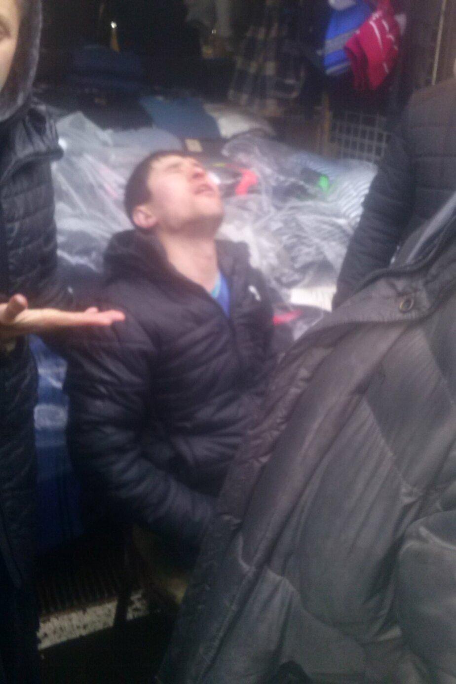 На Центральном рынке неизвестный избил продавца - Новости Калининграда