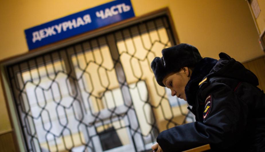 В Калининграде полицейские задержали с поличным вора, укравшего скутер
