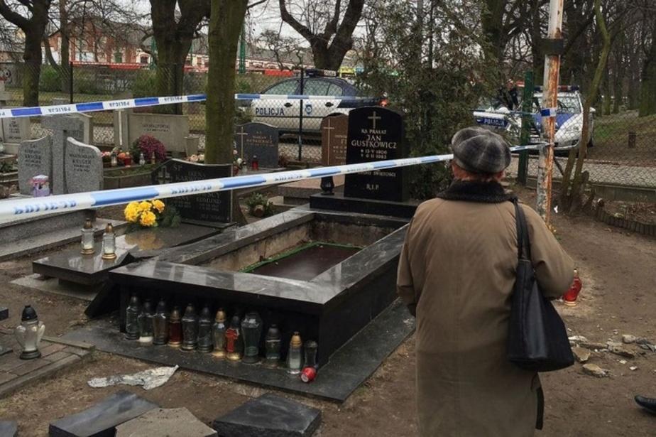 Из могилы на гданьском кладбище украли череп священника - Новости Калининграда