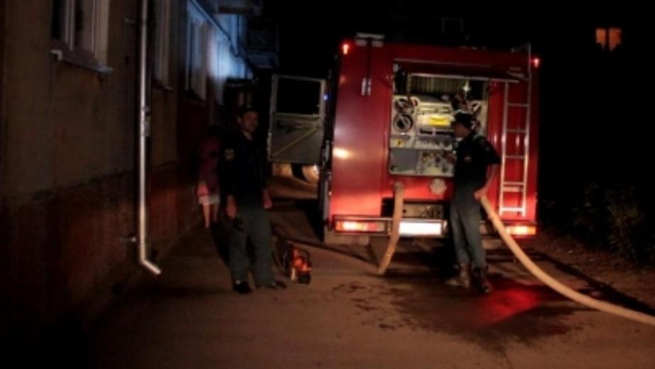 Под Зеленоградском пенсионер устроил пожар на сеновале