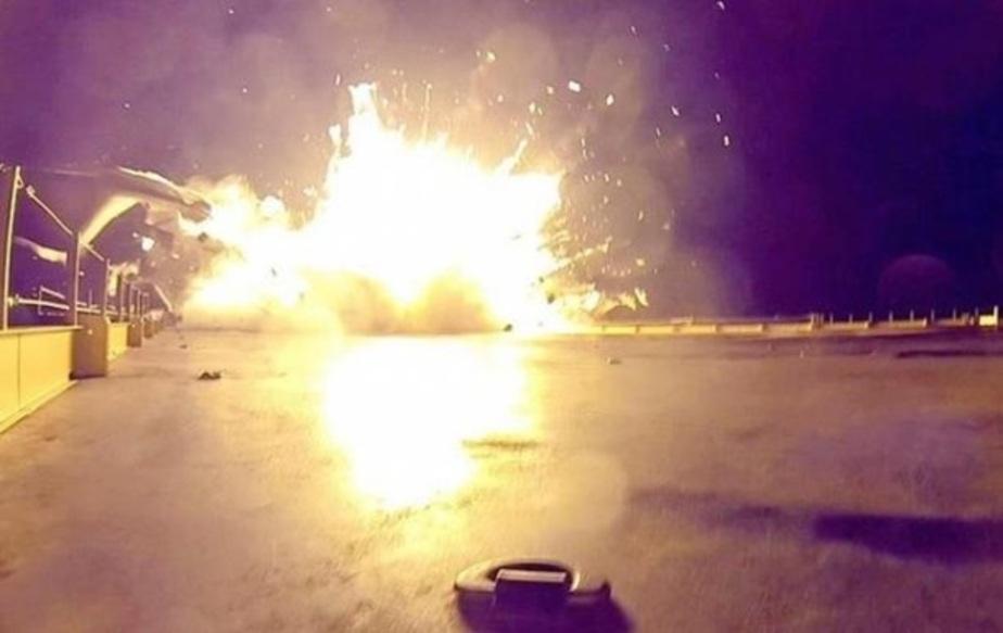 Ракета Falcon 9 неудачно приземлилась на платформу в океане (видео) - Новости Калининграда