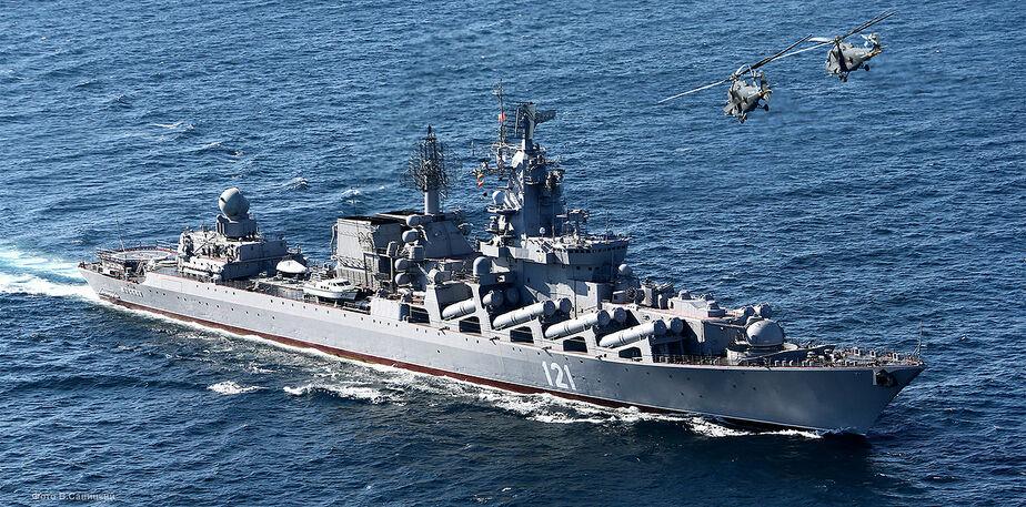 """Россия отправляет к берегам Сирии крейсер """"Москва"""" для усиления противовоздушной обороны"""