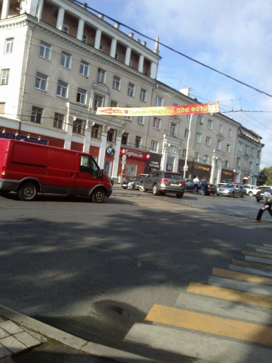 На проспекте Мира две аварии: заторы от ул. Красной - Новости Калининграда