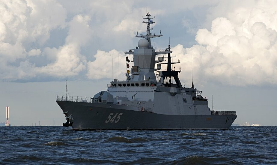 Корабли Балтийского флота вышли в море на учения  - Новости Калининграда