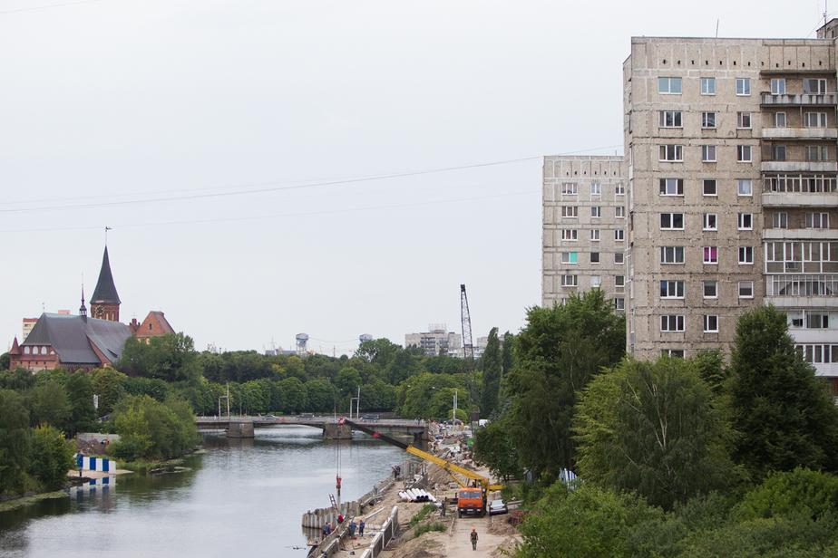 Жильцы еще одной многоэтажки на Московском жалуются на трещины - Новости Калининграда