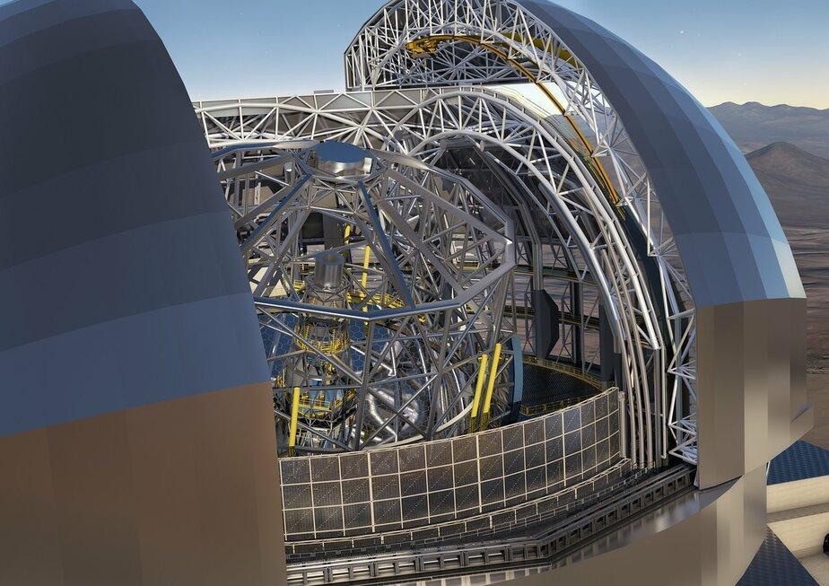 Сайт Европейской южной обсерватории