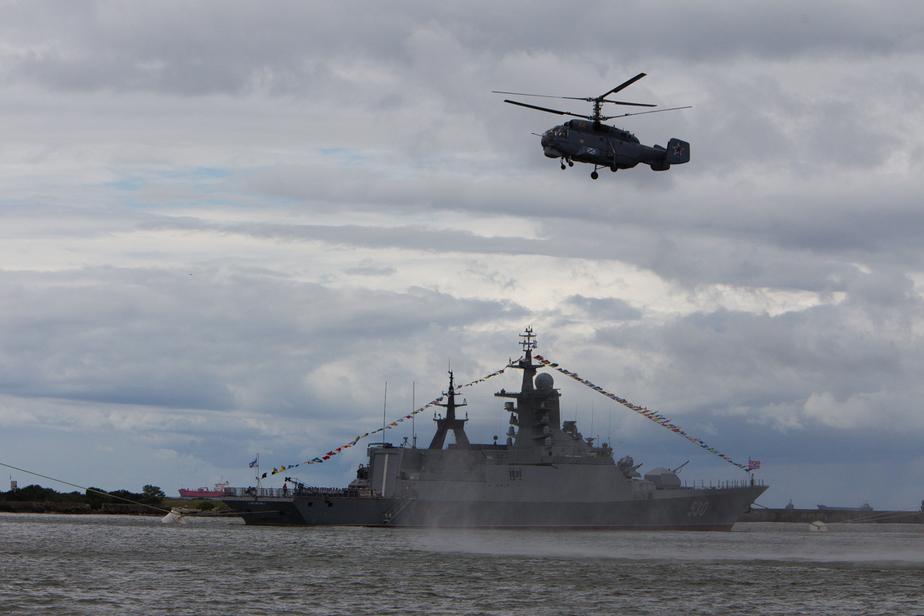 Противолодочные корабли Балтийского флота вышли в море на учение - Новости Калининграда