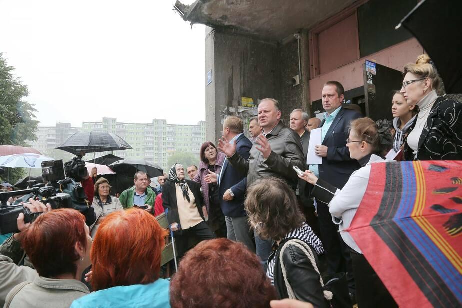 Жильцам накренившегося на Московском проспекте дома дали три дня на эвакуацию - Новости Калининграда