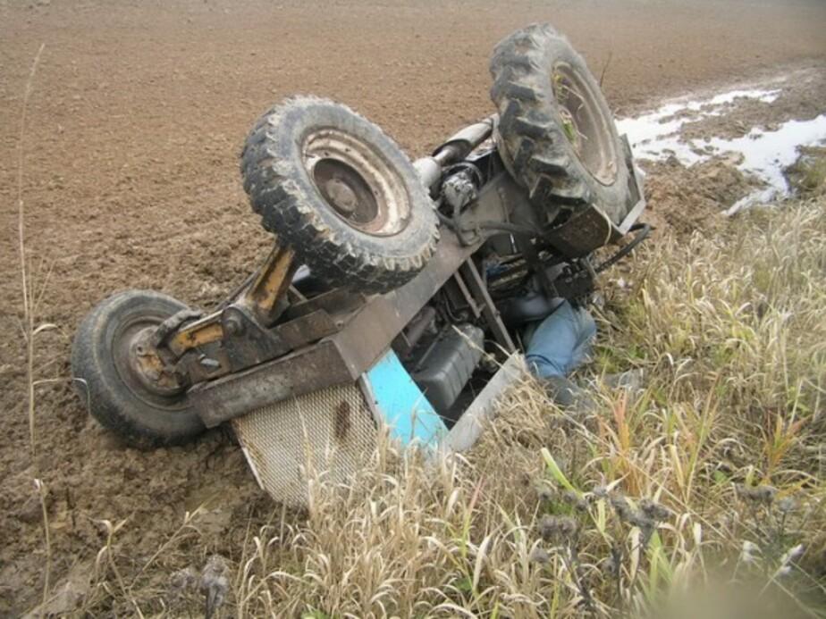 В Калининградской области тракториста второй раз поймали пьяным за рулем - Новости Калининграда