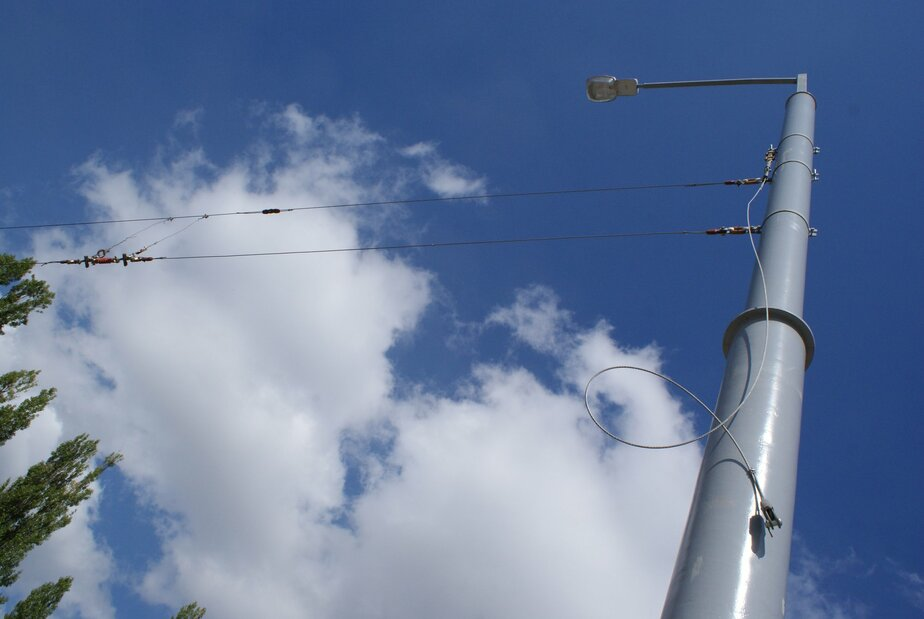 В Калининграде контейнеровоз обесточил семь уличных фонарей  - Новости Калининграда
