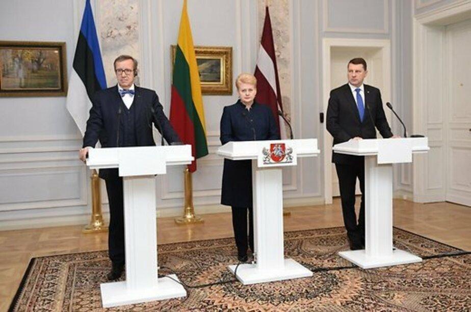 Страны Балтии отказались участвовать в антитеррористической коалиции с Россией