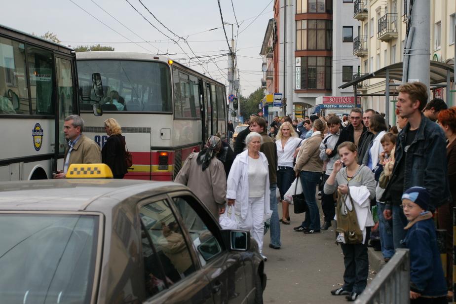 В Калининграде из-за проверок задерживают автобусы  - Новости Калининграда