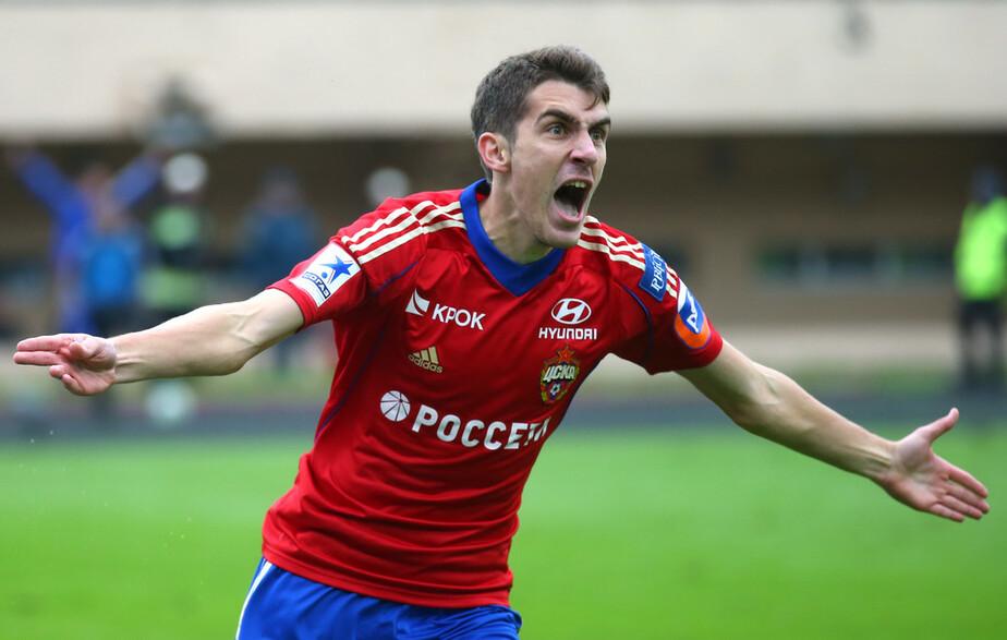 ЦСКА нашел замену калининградской «Балтике» для своего нападающего - Новости Калининграда