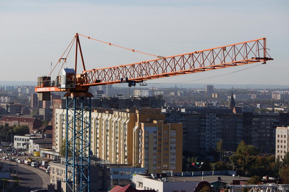 В Калининграде ввели в эксплуатацию дом, который не могли достроить с 2012 года - Новости Калининграда