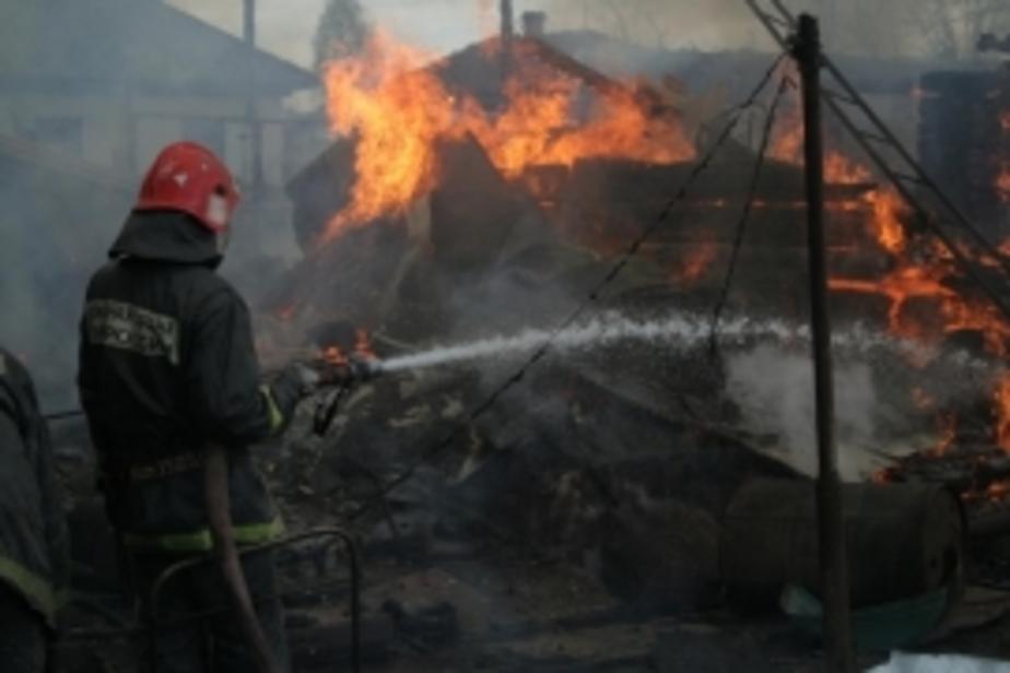 В Калининграде от камина загорелась комната - Новости Калининграда