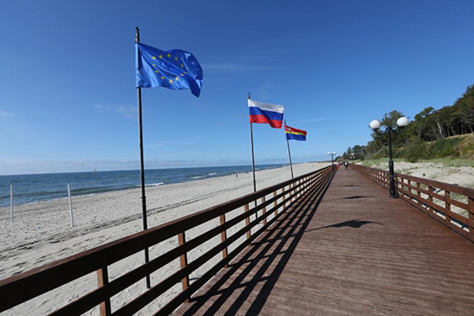 янтарный пляж фото именно