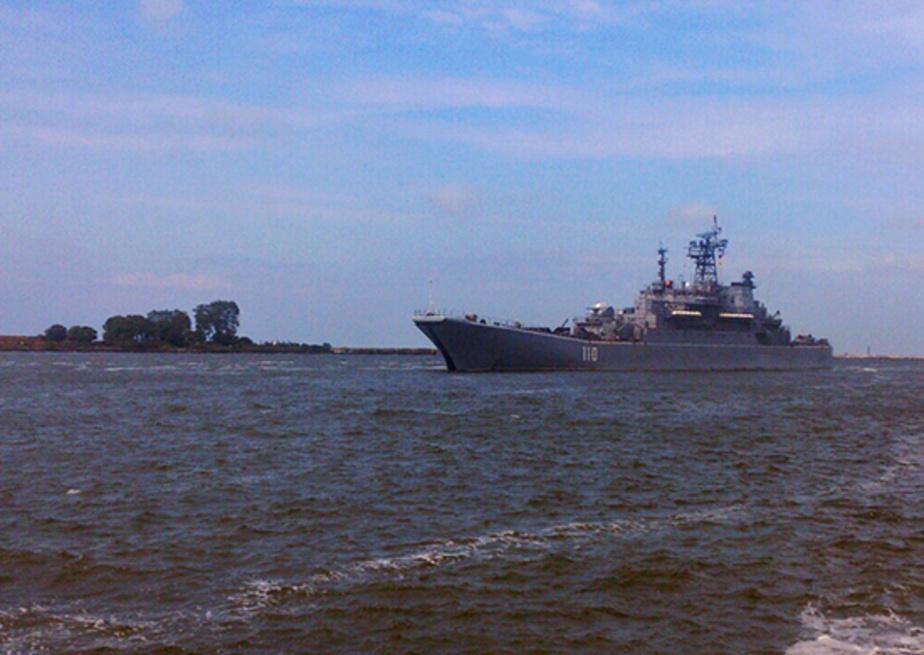 На Балтфлоте отрепетировали парад ко Дню ВМФ - Новости Калининграда