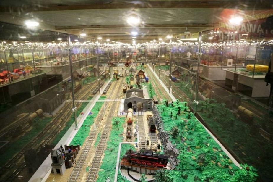 """Семь грузовиков с """"Лего"""": в Белостоке открылась крупнейшая выставка необычных конструкций   - Новости Калининграда"""