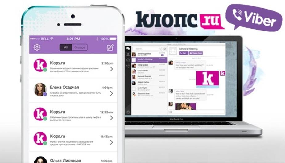 Viber и Клопс.Ru запустили первый в России региональный новостной публичный чат - Новости Калининграда