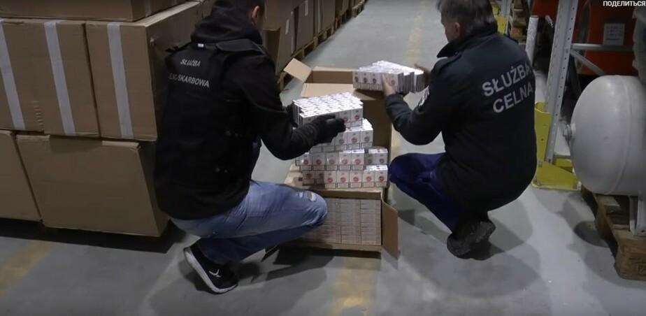 В Польше задержали 8,3 млн контрабандных сигарет из России и Белоруссии (видео) - Новости Калининграда