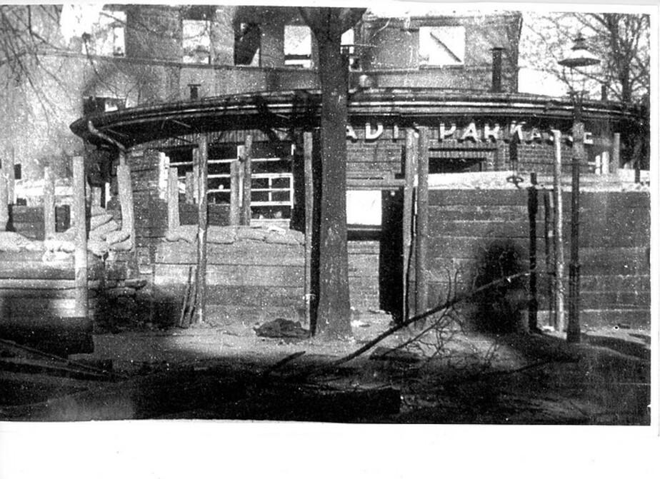 В Калининграде на месте довоенного здания построят кафе