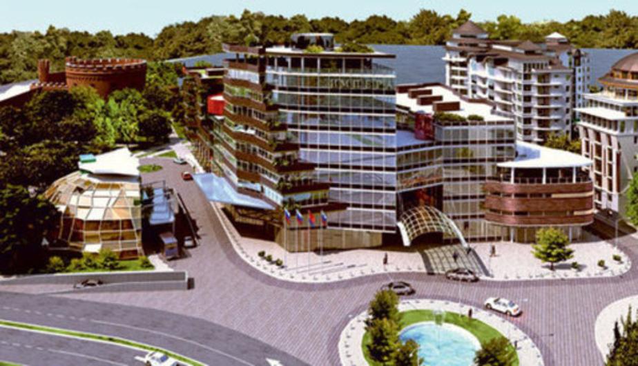 Горвласти выдали разрешение на строительство отеля за Музеем янтаря