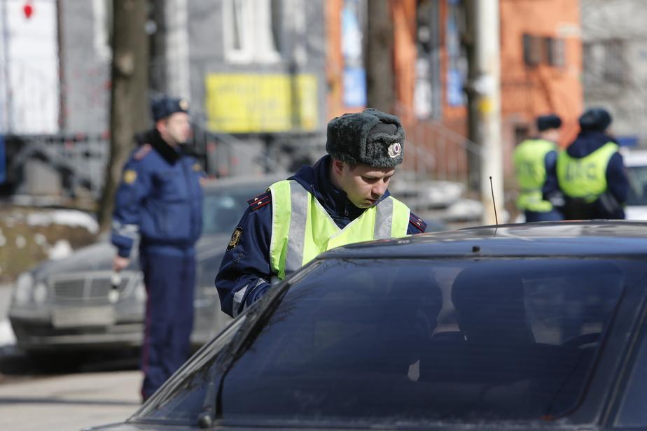 В Калининграде ежедневно задерживают 10-15 пьяных водителей