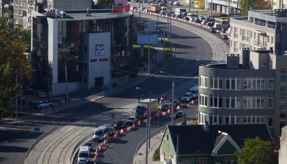 По открытой после реконструкции улице 9 Апреля пустили трамвай - Новости Калининграда