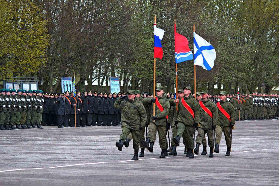 Фото пресс-службы ЗВО Балтийского флота