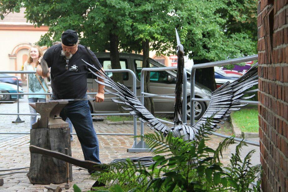 В Калининграде кузнецы изготовят птицу из легенды о янтаре - Новости Калининграда