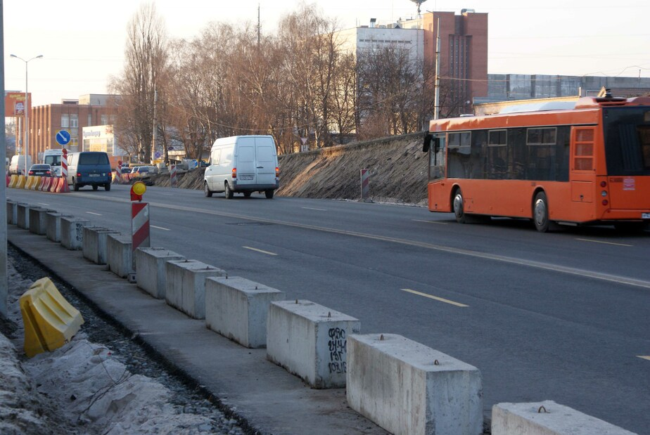 В Калининграде с декабря по март частично перекроют Московский проспект - Новости Калининграда