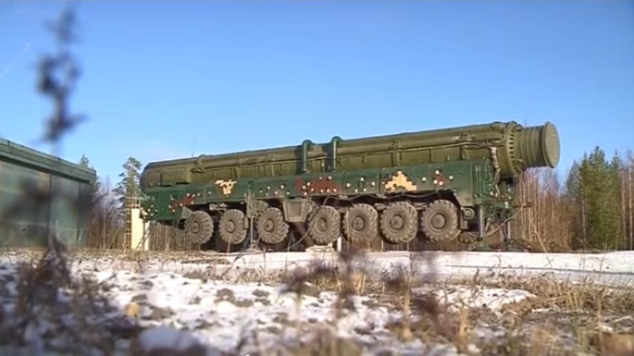 Минобороны РФ испытало межконтинентальную ракету