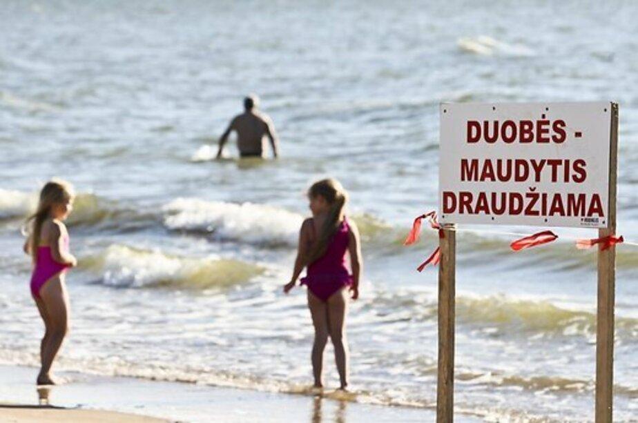 В Паланге туристы купаются в опасных местах, где много камней и ям    - Новости Калининграда