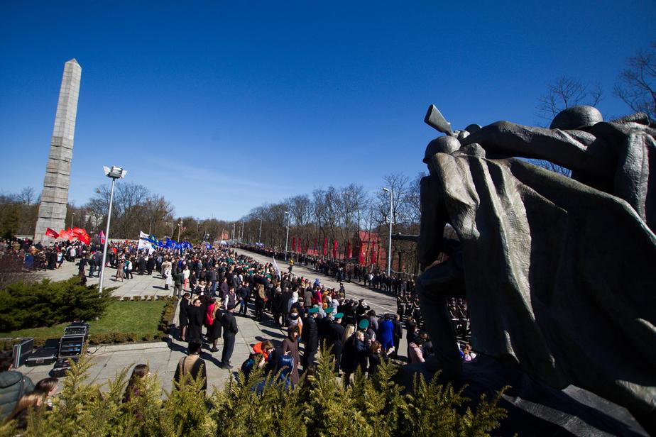 В Калининграде объявлен конкурс на ремонт памятника 1200 гвардейцам - Новости Калининграда