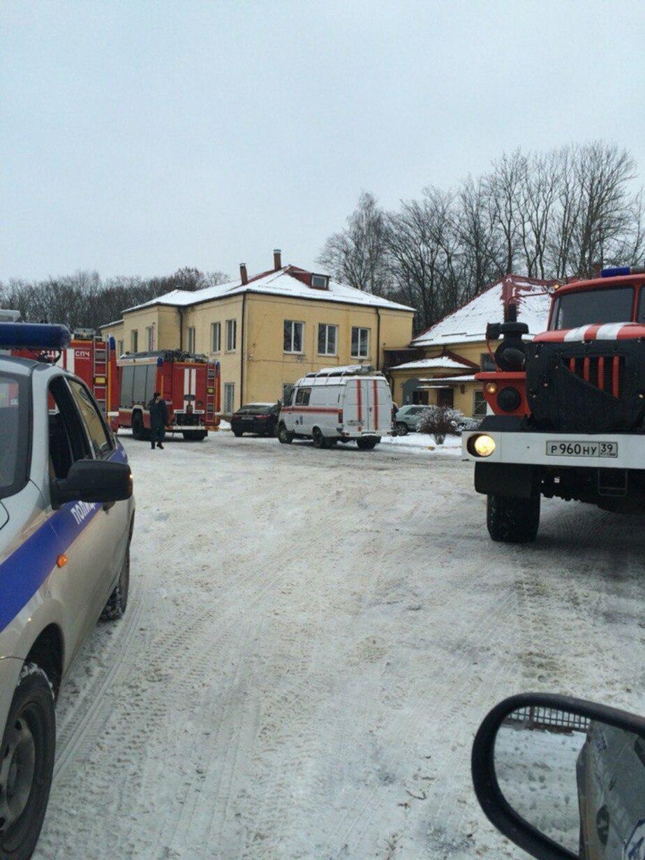 В морге у БСМП загорелся холодильник - Новости Калининграда