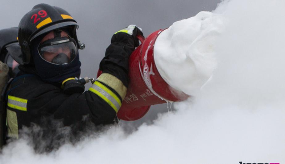 В Космодемьянском при пожаре в садовом домике спасли человека  - Новости Калининграда