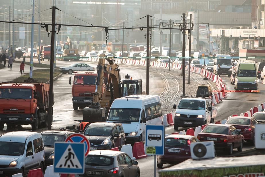 С понедельника на ремонт закроют правую сторону 9 Апреля  - Новости Калининграда
