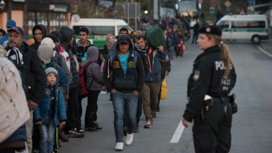 Пьяные поляки напали на лагерь для беженцев в Германии