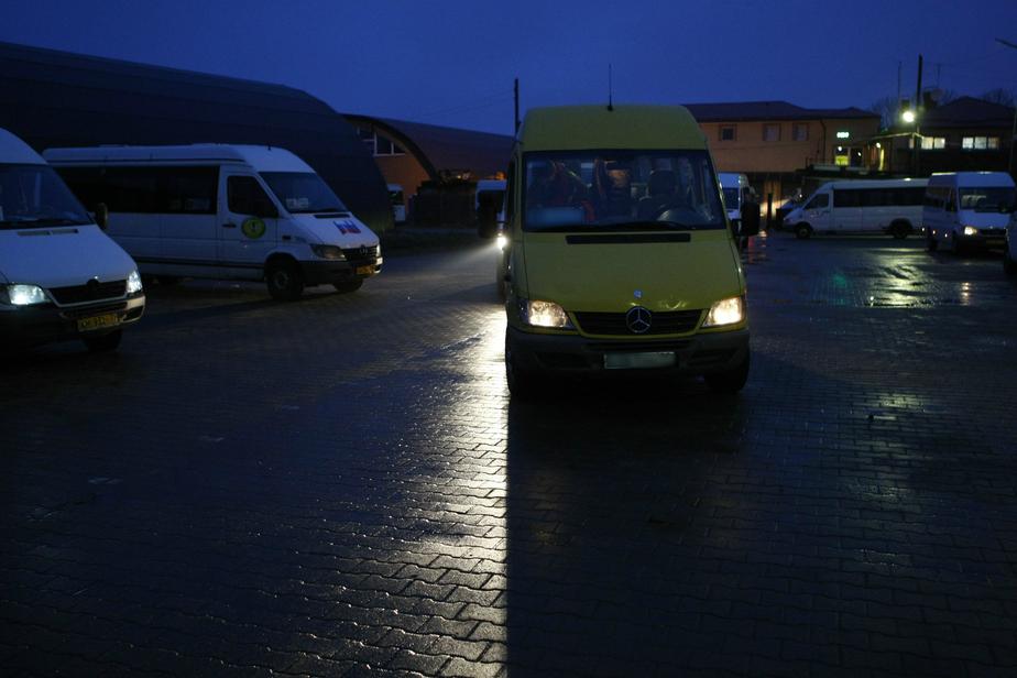 В Калининграде поймали водителя маршрутки, скопившего 60 штрафов за нарушение ПДД