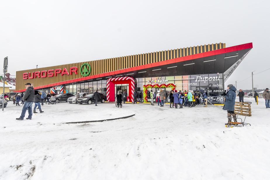 На въезде в Гурьевск открылся новый Eurospar - Новости Калининграда