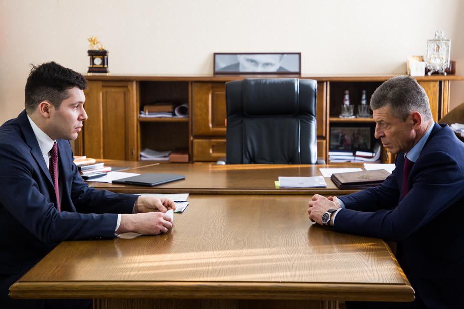 """Антон Алиханов и Дмитрий Козак / """"Клопс"""""""