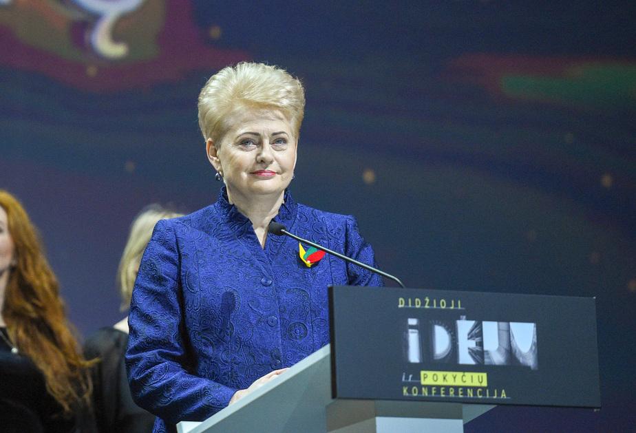 Даля Грибаускайте / Фото с сайта президента Литвы www.lrp.lt