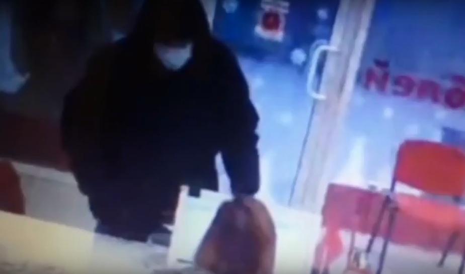 Фото: кадр с видеозаписи камер наблюдения