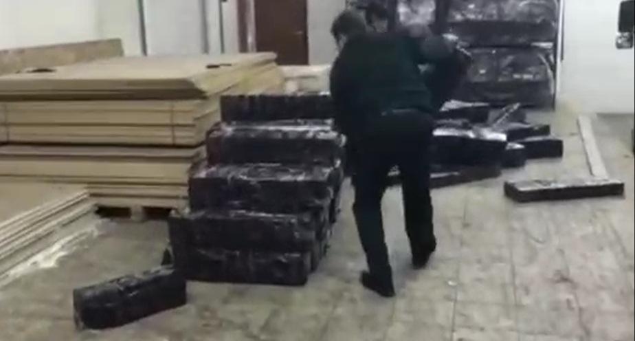 Скриншот видеозаписи Калининградской областной таможни