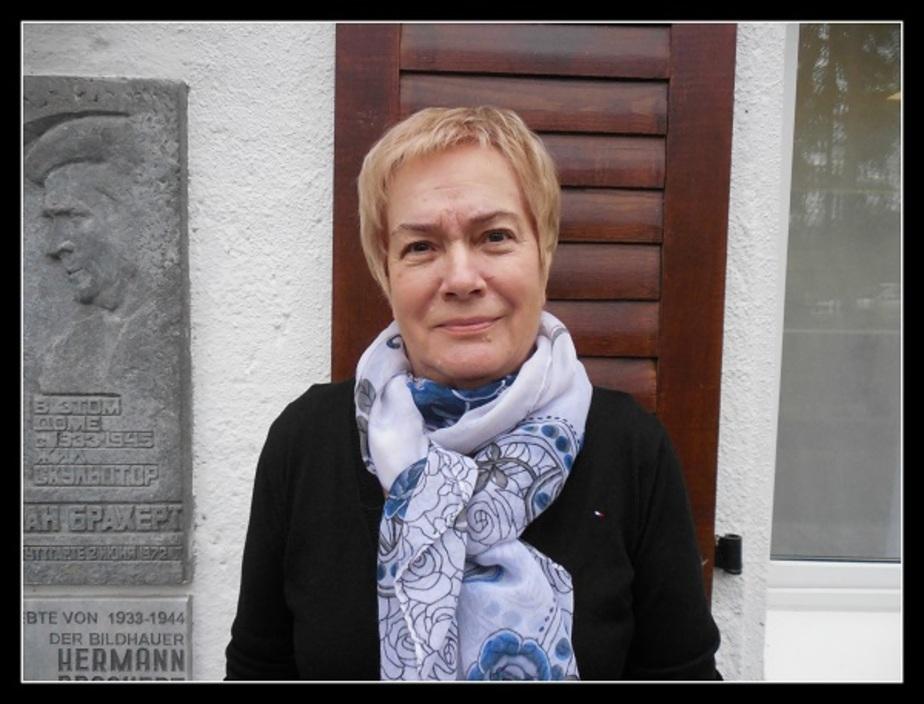 На фото Алла Саруль / официальная страница Дома-музея Брахерта