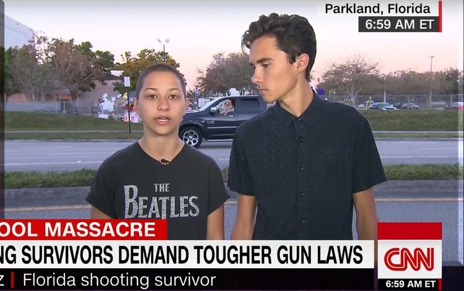 Кадр видеозаписи сюжета CNN