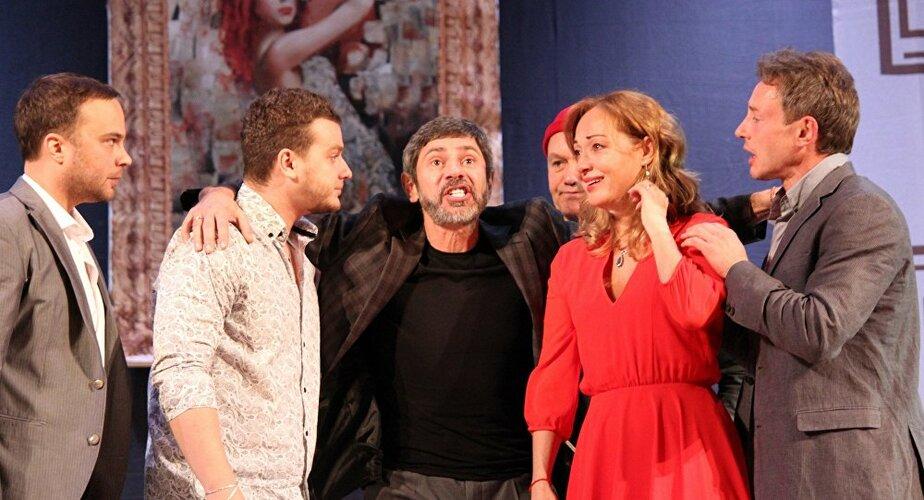 """Шесть мужчин для звезды """"Глухаря"""": в Калининграде 2 марта покажут спектакль со звёздным составом"""