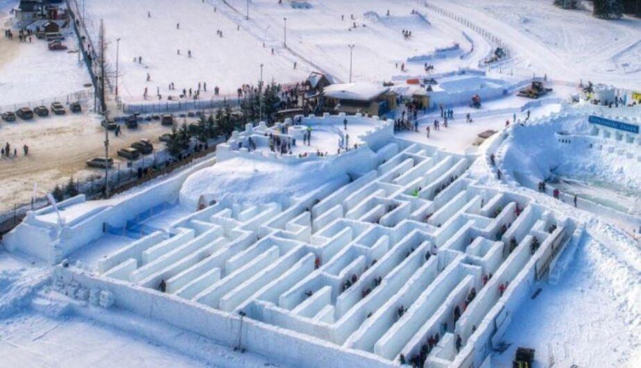 Фото со страницы Snowlandia - Śnieżny Labirynt / Facebook