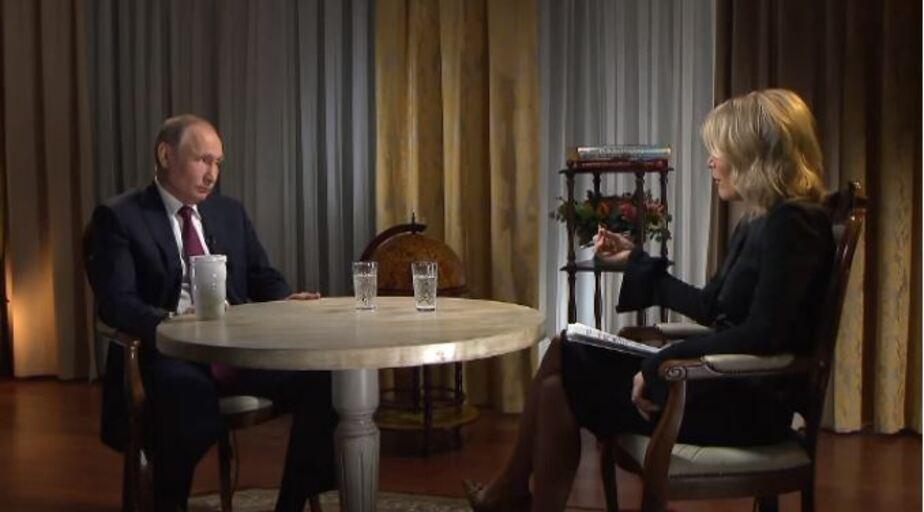 Кадр видеозаписи интервью